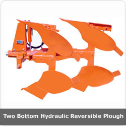 Two Bottom Hydraulic Reveesible Plough
