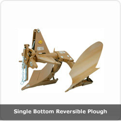 Single bottom Reversible Plough