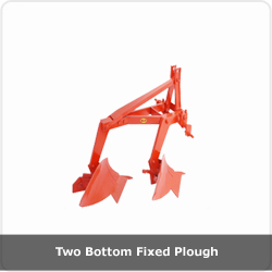 Two Bottom Fixed Plough