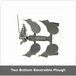Two bottom Reversible Plough